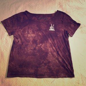 ❤️VANS tie dye peace sign tee shirt